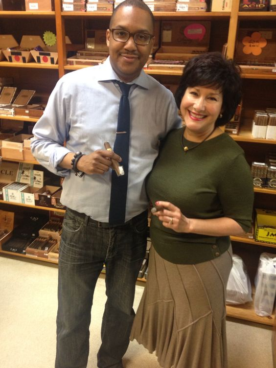 The Pinner with Cynthia Fuentes #cigars