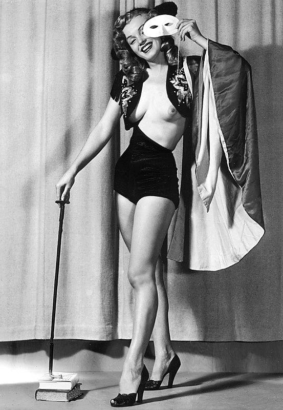 Foto di Marilyn Monroe senza veli