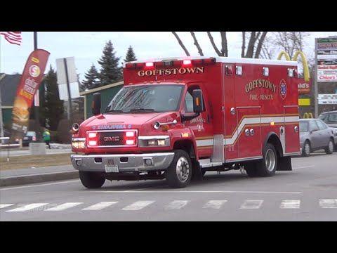 Goffstown Nh Ambulance 2 Responding Ambulance