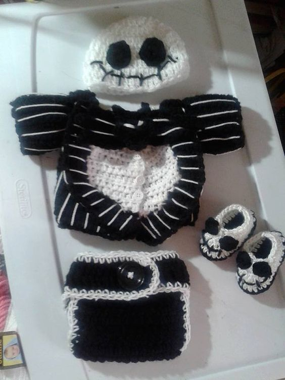 christmas nightmare before before christmas jack o connell crochet ...