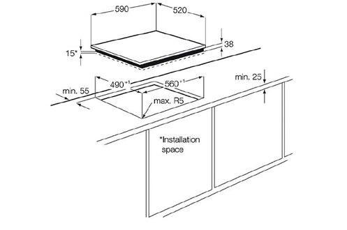 Plaque Vitroceramique Electrolux Ehf6547fok Noir En 2020 Table De Cuisson Induction Table De Cuisson Et Vitroceramique