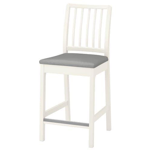 Ingolf Bar Stool With Backrest White 24 3 4 Bar Stools Pub