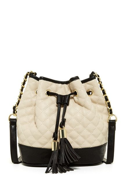 Quilted Bucket Crossbody