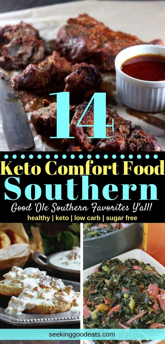 Low Carb and Keto Southern Classic Recipes