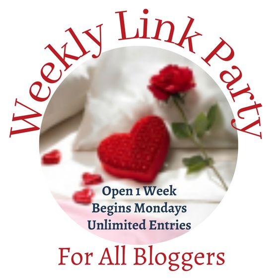 Join our weekly link party each week starting Mondays