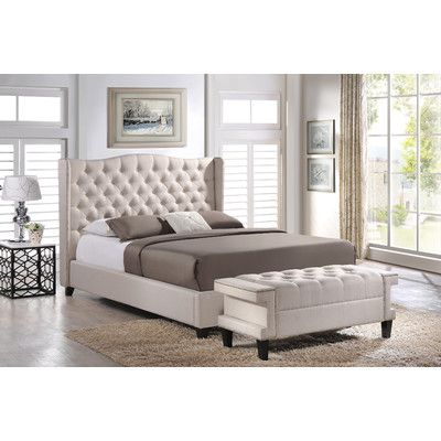 FREE SHIPPING! Shop Wayfair for Wholesale Interiors Baxton Studio Norwich Platform Bed With Bench - Great Deals on all Furniture products with the best selection to choose from!