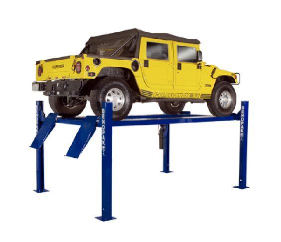 9,000lb  Standard Width & Length 4 Post Car Lift - Car Guy Garage