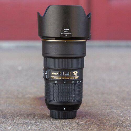 Nikon Af S Nikkor 24 70mm F 2 8e Ed Vr Lens Stock In Eu Nouveau Vr Lens Category Lens