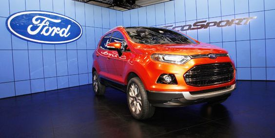 Ford EcoSport 2012: Vehicle Mobility, Enliven Vehicle, Suv 1 0L, Ford Ecosport