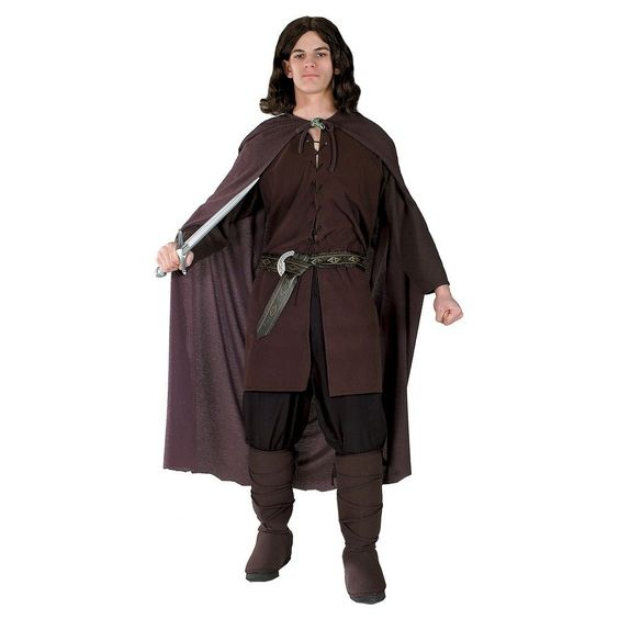 Men's Aragorn Costume One Size Fits Most, Multi-Colored