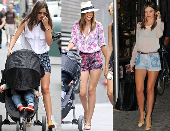 Miranda Kerr doing summer shorts right