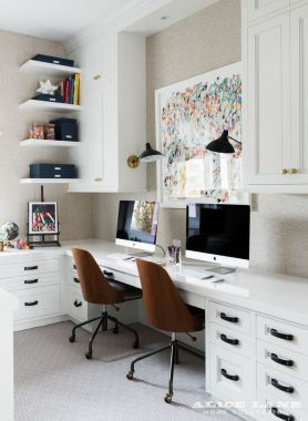 49 Perfect Office Built With Cabinet Idea 2020 Office Furniture In 2020 Home Office Design Home Office Furniture Home Office Decor
