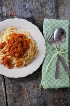 Küchenchaotin: Vegetarische Linsen Bolognese