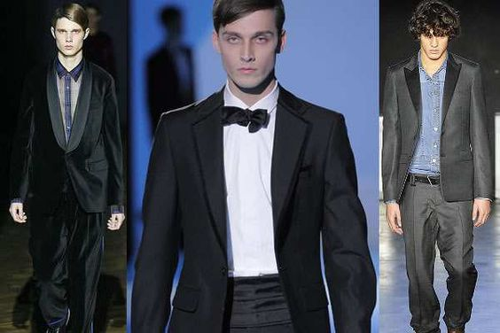 Tuxedo: Men's 2008/2009 suit fashion trend - Fashionising.com