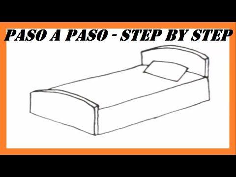 Como Dibujar Una Cama Paso A Paso L How To Draw A Bed Step By Step Youtube Cama Para Dibujar Como Dibujar Una Cama Hacer La Cama