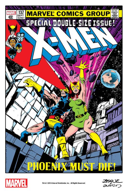 Cyclops And Jean Grey By John Byrne And Terry Austin From The Cover Of Uncanny X Men 137 1980 Remastered By Marvel Comic Books Xmen Comics Comic Book Covers
