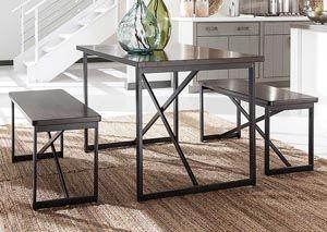 Joring Rectangular Dining Table w/ 2 Stools, /category/dining-room/joring-rectangular-dining-table-w-2-stools.html