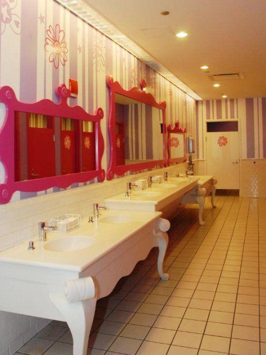 Comfortable Bathroom Rentals Cost Small Mosaic Bathrooms Design Flat Bath Room Floor Freestanding Bathroom Vanity Units Young Bathtub Ceramic Paint GrayTall Bathroom Vanity Height American Girl Store\u0026#39;s Bathroom In Chicago Step Inside The 10 Most ..