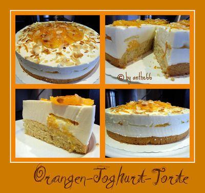 'Orangen-Joghurt-Torte'