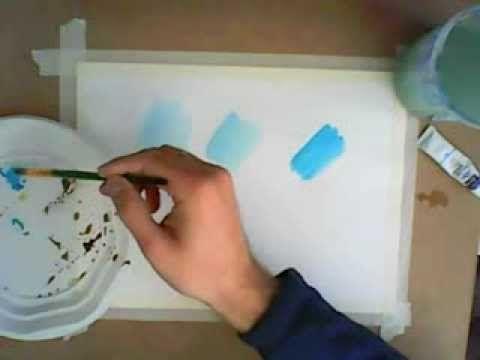 Acuarela paso a paso y técnicas fundamentales: Como Pintar con Acuarelas - YouTube