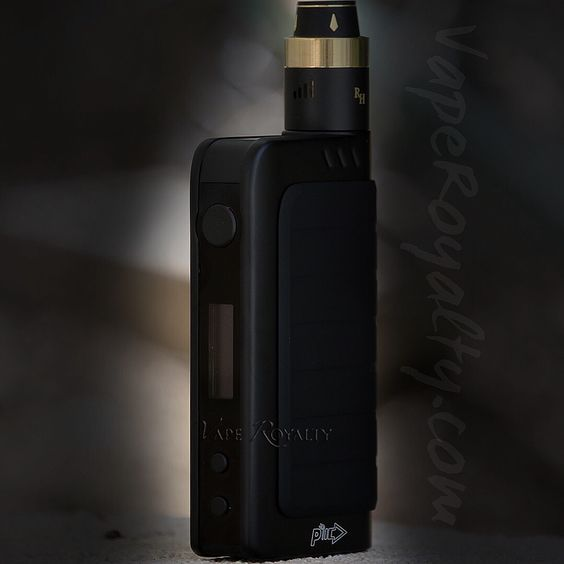 Murdered Out Black IPV4 Mod X Royal Hunter By The Council of Vapor  Both In Stock at - www.VapeRoyalty.com
