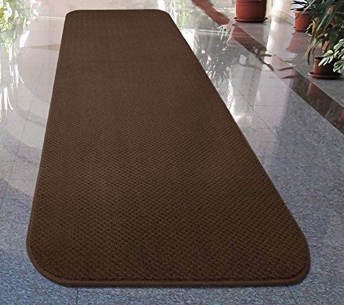 House Home And More Skid Resistant Carpet Runner Chocolate Brown Many Other Sizes To Choose With Images How To Clean Carpet Carpet Runner Area Rug Decor