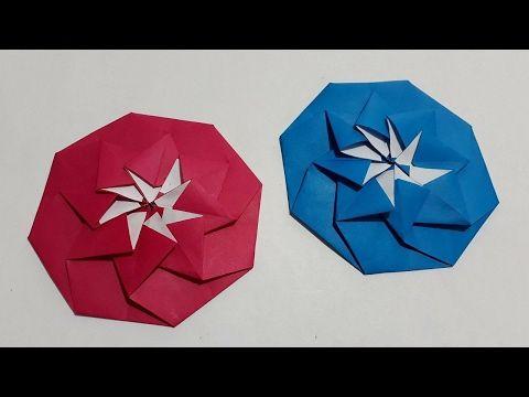 Origami Hexagon Letterfold Sobre Octagonal Estrella Como Doblar Cartas En Forma Octagonal Youtube Tarjetas De Origami Manualidades Origami
