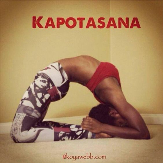 Kapotasana my next goal!! Im so excited for this but im sure it will take me some time
