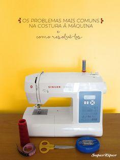 Tutoriais: Os problemas mais comuns na costura à máquina