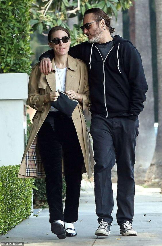 Rooney Mara & Joaquin Phoenix in LA, January 11, 2018