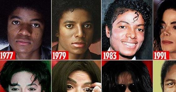 How Michael Jackson Destroyed His Looks in 100 Operations