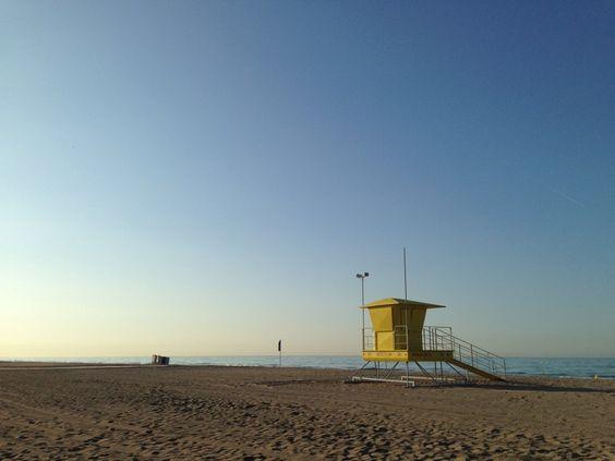 Early #morning at #castelldefels #beach #jogging before the new working day))) #barcelona #catalonia #spain #sea #mediterranean #mar #playa #mediteraneo #mañana #verano #summer
