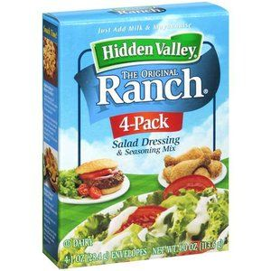 Where to buy hidden valley ranch dressing mix