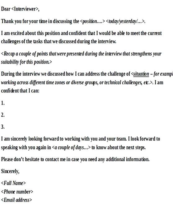 Thank You Letter After Second Interview Group from i.pinimg.com