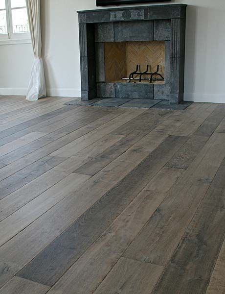 Grey wood grey and unique on pinterest for Grey brown floor tiles
