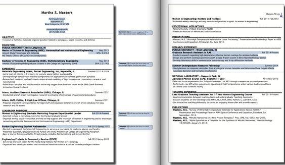 Purdue CCO Resume Samples - http\/\/resumesdesign\/purdue-cco - purdue cco resume