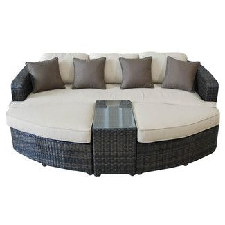 Found it at Wayfair - Kontiki All Weather Wicker 4 Piece Lounge Seating Group with Cushionshttp://www.wayfair.com/Kontiki-All-Weather-Wicker-4-Piece-Lounge-Seating-Group-with-Cushions-10095407-OTK1025.html?refid=SBP