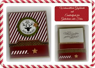 Nikas Hexerei: Stampin' Up! Envelope Punch Board Weihnachtliche Grußkarte mit Einsteckfach