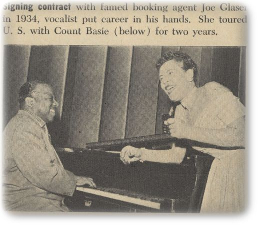 Billie Holiday Carnegie Hall | Magazine - Welcome to Visual discography of Billie Holiday