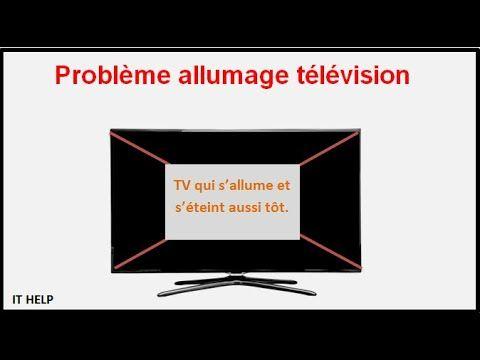 panne tv lg ecran noir 42lb550a