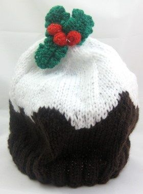 Child s Hat   Christmas Pudding Beanie #free #knitting # ...