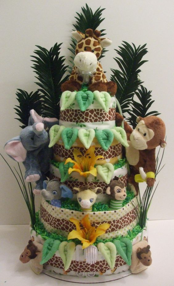 Custom Diaper Cakes and Baby Shower Gifts | Bountiful Baby Cakes and Bouquets