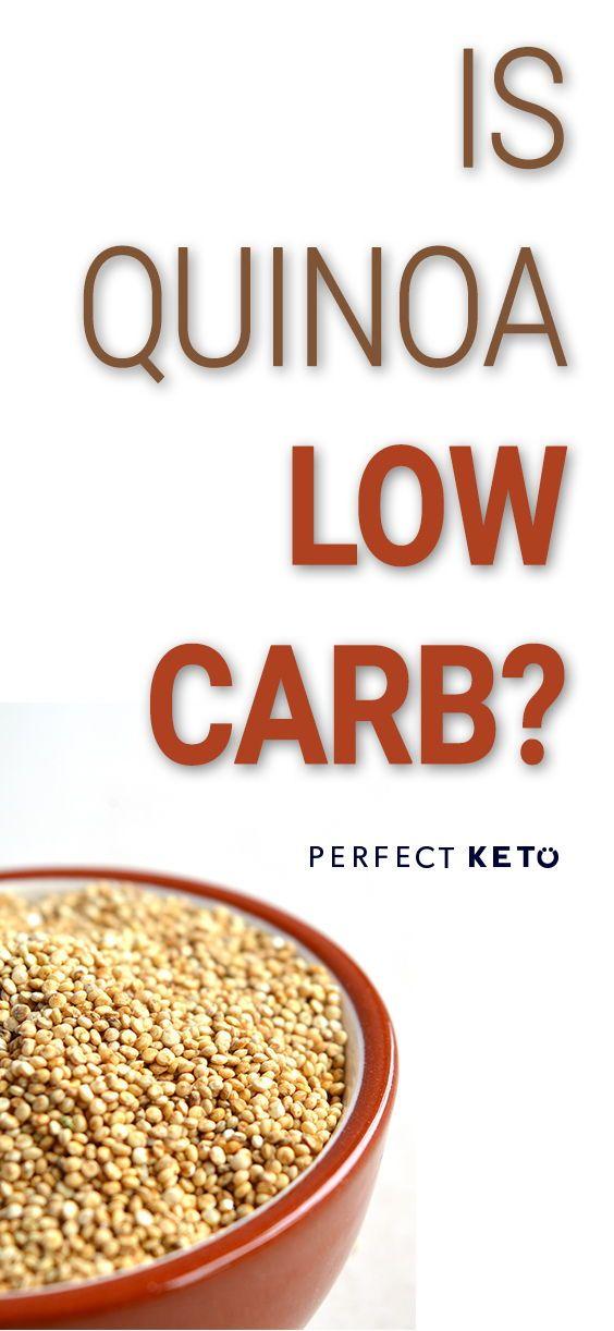 quinoa on keto diet?