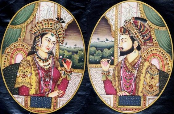 Mumtaz Mahal and Shah Jahan<br />: