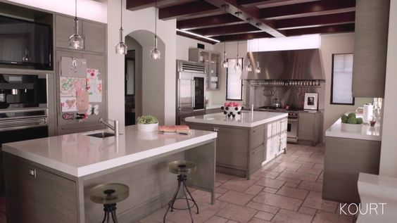 The Kitchen Is Equipped With A Sub Zero Refrigerator Wolf Range And Dornbracht Sink Ings Design Pinterest