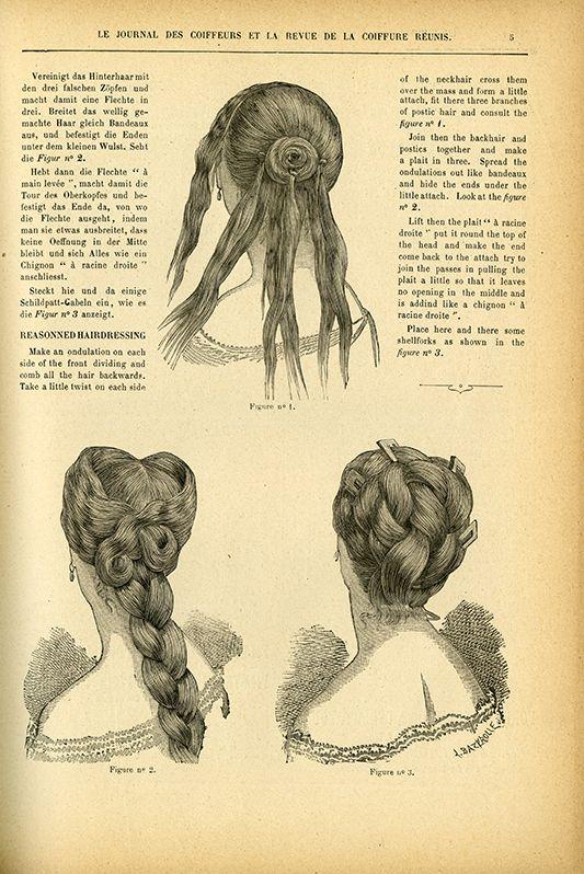 Hair Style. 1882