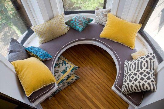 Bay Window Bench
