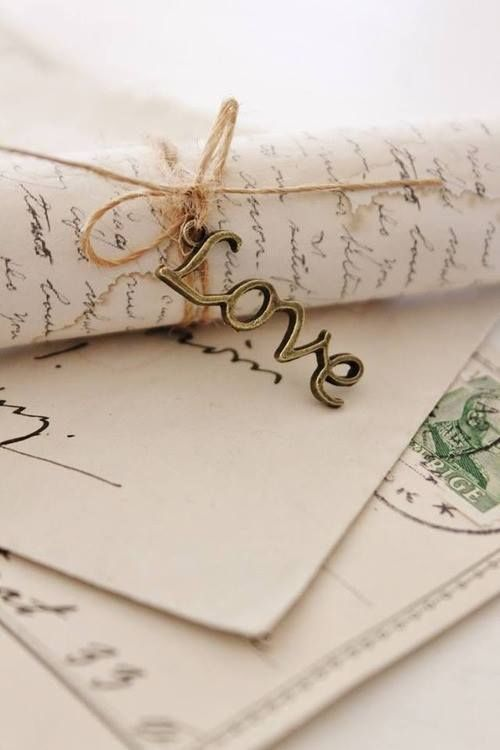 i still write love letters to my hubby and he loves it.  <3