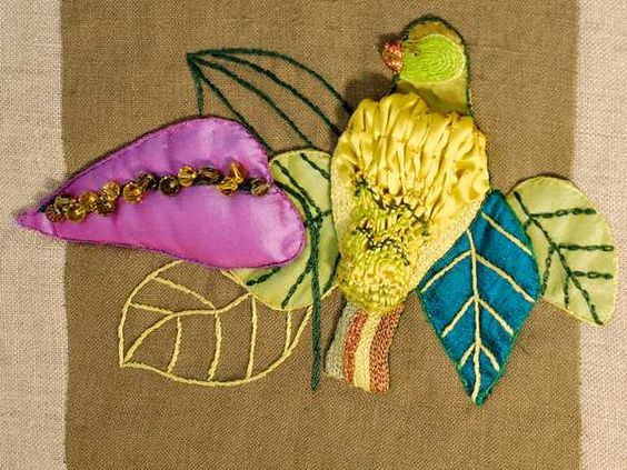 calico corners upholstery fabric bird design ideas  Repurposed ...