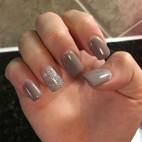 50 Must Have Fall Nails For 2018 2019 Fall Acrylic Nails Taupe